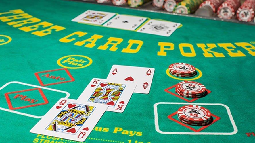 Three Card Poker: Pair Plus vs. Ante-Play - Tunica
